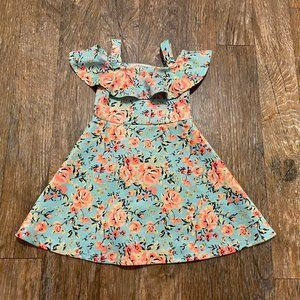 Love @ First Sight Floral Dress Size 3T